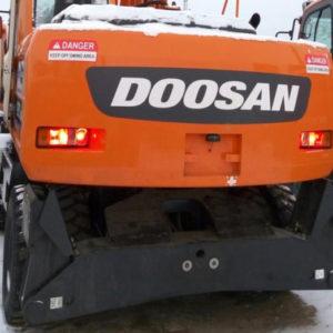 Коронки, пальцы на Doosan Solar